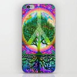 Tree of Life Peace iPhone Skin