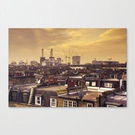 South London Skyline  Canvas Print