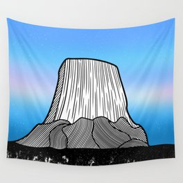 Devils Tower Wall Tapestry