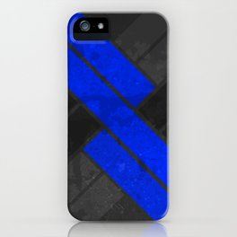 Touch Of Color - Blue iPhone Case