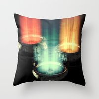 fairy tale Throw Pillows featuring fairy tale by Patrick R. Gschwind