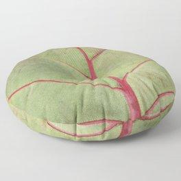 Leaf Veins Floor Pillow