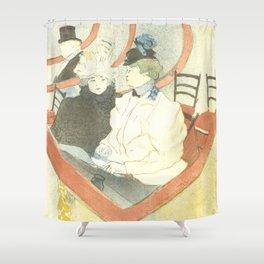 "Henri de Toulouse-Lautrec ""The Grand Theater Box (La grande loge)"" Shower Curtain"