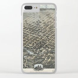 Houston 1873 Clear iPhone Case