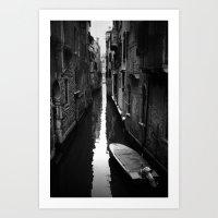 venice Art Prints featuring venice by sustici