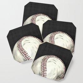 Vintage Baseball Art Coaster