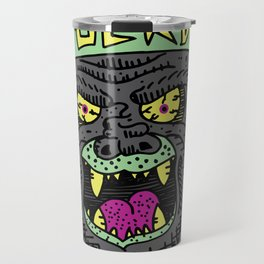 80's Hardcore Gorilla Travel Mug