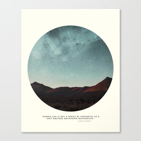 Universe remedy Canvas Print