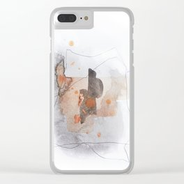 Piece of Cheer 1 Clear iPhone Case