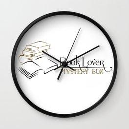 Book Lover Mystery Box Wall Clock