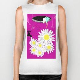Daisy Daze Biker Tank