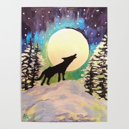 Howling at the Moon Poster