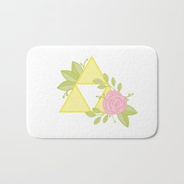 Garden of Power, Wisdom and Courage Bath Mat