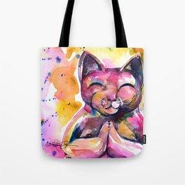 Buddha Cat No. 11 Tote Bag