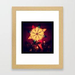 A Little Christmas Cheer Framed Art Print