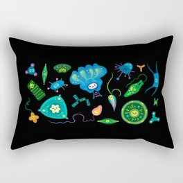 Phytoplankton Rectangular Pillow