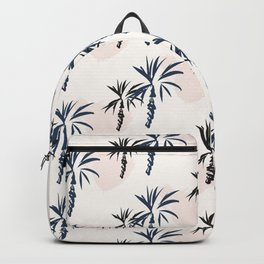 Double palm pattern Backpack