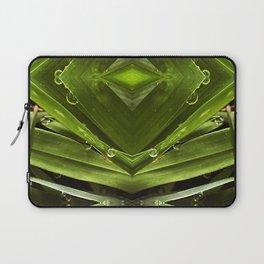 Dew Drop Jewels on Summer Green Grass Laptop Sleeve