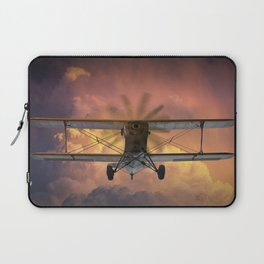 Loud Planes Fly Low Laptop Sleeve