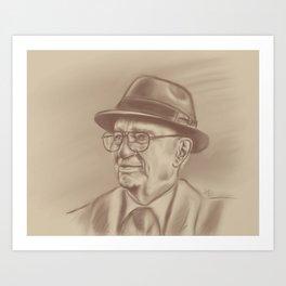 Gordon B. Hinckley  Art Print