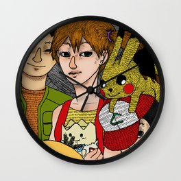 Catch'em all Wall Clock