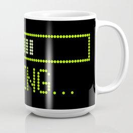 Green Loading Time Bar Coffee Mug