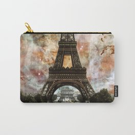 The Eiffel Tower - Paris France Art By Sharon Cummings Carry-All Pouch