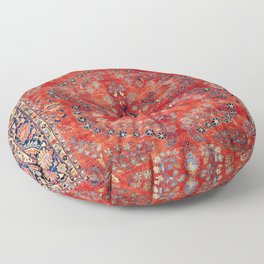 Sarouk Arak West Persian Carpet Print Floor Pillow