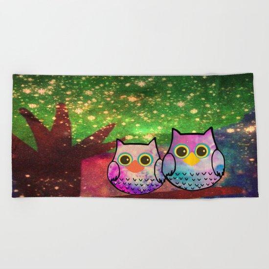 owl-507 Beach Towel