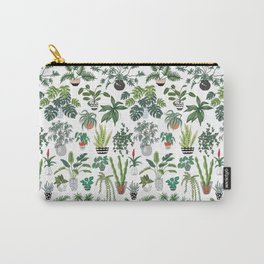 plants and pots pattern Carry-All Pouch