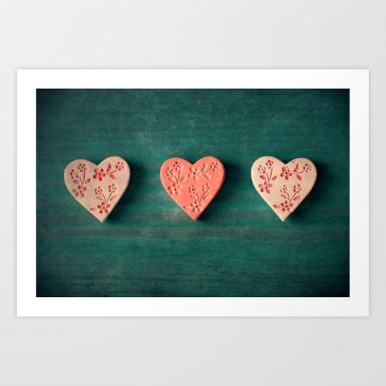 My Heart goes boom.. Art Print