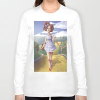 dorothy Long Sleeve T-shirts featuring Dorothy by FReMO