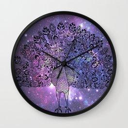Universal Peacock Wall Clock