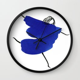 How to be a girl #1 Wall Clock