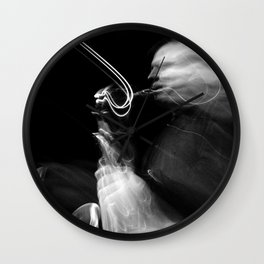 The Move of The Saxophone Wall Clock