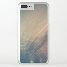 Cherry-Cola Coloured Lush Clear iPhone Case