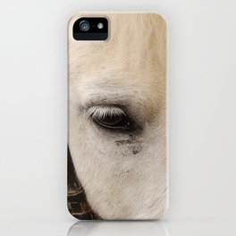 Face of a Horse iPhone Case