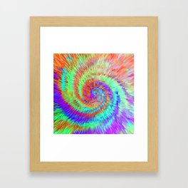 Sunrise in another galaxy.... Framed Art Print