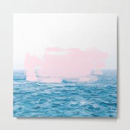 Ocean + Pink #society6 #decor #buyart Metal Print