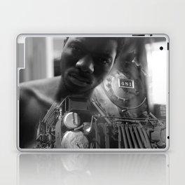 Man and the train Laptop & iPad Skin