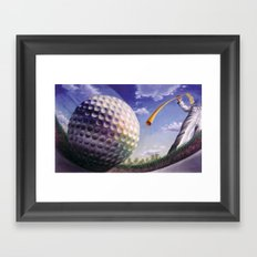 Twelfth Hole at Augusta Framed Art Print
