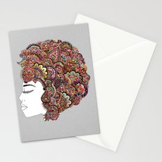 Her Hair - Les Fleur Edition Stationery Cards