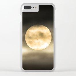 Large AR2665 Dark Spot on the Sun July 2017 Clear iPhone Case