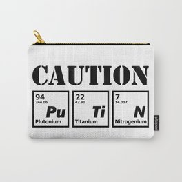 caution Putin Carry-All Pouch