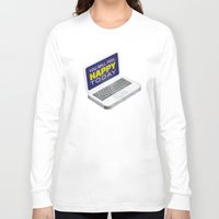computer Long Sleeve T-shirts featuring Computer Emotions by Andrew J. Nilsen  / Visualinguist