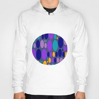 dots Hoodies featuring Dots by Aloke Design