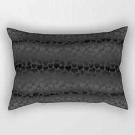 Be my dark valentine Rectangular Pillow