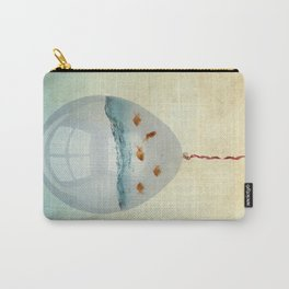 balloon fish o2, freedom in a bubble Carry-All Pouch