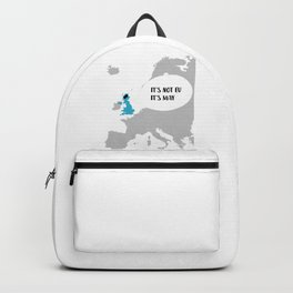 It's Not EU It's May Backpack