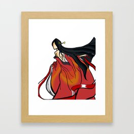 The Red Queen's Fate Framed Art Print